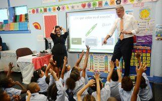 白思豪的市長公校控制權將在6月30日到期,目前仍然沒有得到延期。 (Susan Watts-Pool/Getty Images)