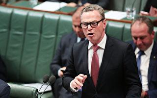 澳洲自由黨眾議院領袖、國防工業部長派恩(Christopher Pyne)支持同性婚姻的言論引發自由黨內部一些人士的強烈憤怒,議員們正在向總理特恩布爾施壓,要求撤銷派恩眾議院領袖的職務。(Stefan Postles/Getty Images)
