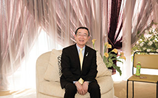 「世界最大規模的咖喱連鎖店」創始人宗次德二。(野上浩史/大紀元)