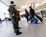 针对朝鲜自称三名外交代表的行李被美国强行没收的指控, 6月18日,美国国土安全部回应说,三名涉事朝鲜公民并非驻联合国代表团成员,他们携带的文件和包裹不受外交豁免权保护,必须接受检查。图为JFK机场。 (Spencer Platt/Getty Images)