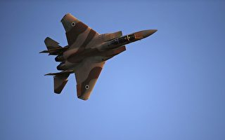 F-15E鹰式战斗机是美国空军的全天候打击战机。(THOMAS COEX/AFP/Getty Images)