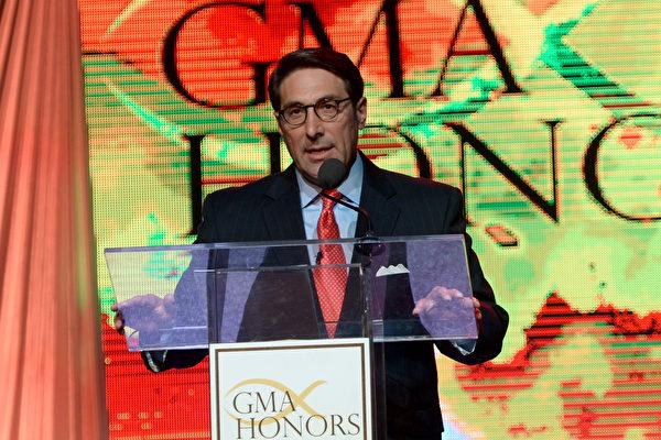"""川普总统法律团队成员苏库洛(Jay Sekulow)周日(6月18日)说,""""总统没有受到、也从未受到调查""""。( Rick Diamond/Getty Images for GMA)"""
