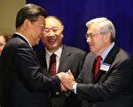 前愛荷華州州長布蘭斯塔德被北京描述為中國的「老朋友」,他跟習近平有30年的交情。 ( Bettina Hansen-Pool/Getty Images)