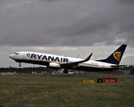 廉价航空公司瑞安不断扩大地盘,今年9月又将进驻德国南部梅明根(Memmingen)机场。(Dan Kitwood/Getty Images)