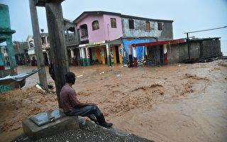 2016 年11月5日, 颶風馬修襲擊了海地,至少546人喪生。( HECTOR RETAMAL/AFP/Getty Images)