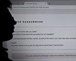 A乌克兰政府、国家银行(National Bank)和大型电力公司周二(6月27日)都收到网络攻击的警告。乌克兰的机场和地铁据说也受到影响。它们似乎是又一场大型勒索病毒爆发的牺牲品。这波爆发正在迅速传遍全球,冲击大量关键的基础设施提供商。(DAMIEN MEYER/AFP/Getty Images)