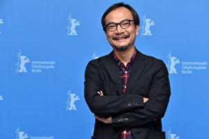 """第67届柏林国际电影节上,中国动画电影《好极了》(英文名""""Have a Nice Day"""")的导演刘健在记者发布会上与媒体见面。(Pascal Le Segretain/Getty Images)"""