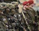 今年3月德国士兵在进行反恐演习。(Philipp Guelland/Getty Images)