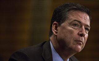 科米周四(6月8日)将在国会就通俄门调查作证。 (Zach Gibson/Getty Images)