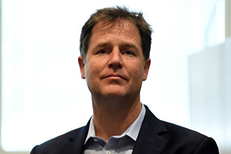 KINGSTON UPON THAMES, ENGLAND - JUNE 01: Former Lib-Dem leader, Nick Clegg visits Kingston Hospital on June 1, 2017 in Kingston upon Thames, England. Britain goes to the polls to vote in a general election on June 8. (Photo by Leon Neal/Getty Images)