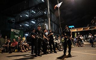當地時間週五(6月2日)凌晨,菲律賓首都馬尼拉一家酒店位於二樓的賭場發生槍擊和縱火事件,至少37人死亡。(Photo by Basilio H. Sepe/Getty Images)