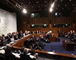 美國前聯邦調查局(FBI)局長科米(James Comey)美東時間週四(8日)上午10點,就「通俄門」出席國會聽證會,再度成為鎂光燈焦點。 (Photo by Mark Wilson/Getty Images)