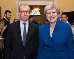 英國保守黨大選失利,首相梅表示要建立少數黨政府。(STEFAN ROUSSEAU/AFP/Getty Images)