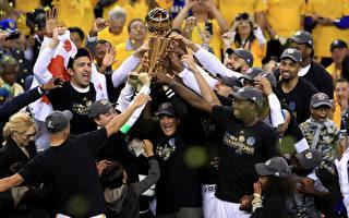 勇士胜骑士夺NBA总冠军 杜兰特飙39分