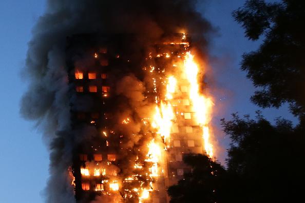 格伦菲尔塔楼大火后,人们会更加关注家用电器的安全问题。(DANIEL LEAL-OLIVAS/AFP/Getty Images)