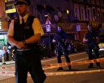 英国警方表示,当地时间周日午夜(周一凌晨)刚过,伦敦北部发生汽车冲撞行人事件,造成多人受伤。(DANIEL LEAL-OLIVAS/AFP/Getty Images)