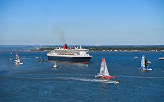 纪念美法百年友谊 邮轮帆船跨洋赛起航