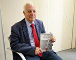 图为英国在香港的最后一届总督彭定康。(Christopher Patten)  (WILLIAM EDWARDS/AFP/Getty Images)