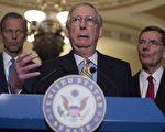 由于共和党内部的支持减少,参议院多数党领袖麦康奈尔周二(6月27日)推迟了健保法改革计划的投票。(SAUL LOEB/AFP/Getty Images)