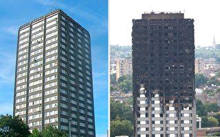 """火光照出贫富分化 伦敦大火还没有""""灭"""""""