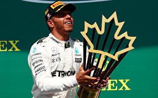 F1加拿大站:梅赛德斯赛季首度揽冠亚军