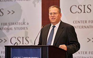 美國駐香港總領事唐偉康(Kurt Tong)于6月13日在華盛頓智庫戰略與國際研究中心(CSIS)演講中表示,香港的「高度自治是城市的新鮮血液」,但其正面臨被中共侵蝕的風險。(石青雲/大紀元)