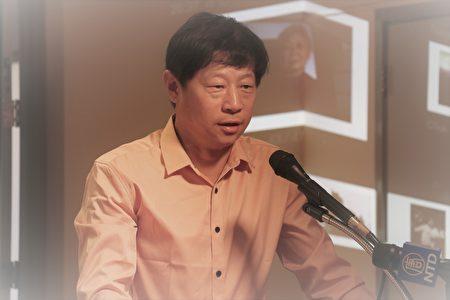 吳建民表示,對於共產黨這樣邪惡的政權,不能再抱有幻想。(李霖昭/大紀元)