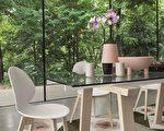 Calligaris是義大利最具知名度的家具品牌之一,其產品設計美觀、可靠性高,完美地展現了義大利的家具風格。(CALLIGARIS提供)