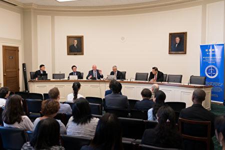 6月23日,制止中共强摘器官论坛美国会举行 。(石青云/大纪元)