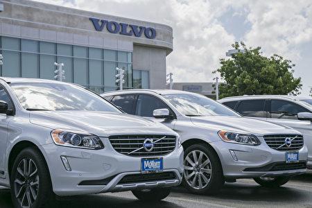 灣區沃爾沃Volvo車行中,規模最大,歷史最悠久的McKevitt Volvo車行。 (曹景哲/大紀元)