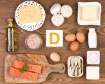 今年冬天,预计有超过四分之一的西澳人将出现维生素D缺乏症,吃对食物则可避免。图为富含维生素D的食物。(Fotolia)