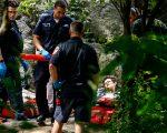 去年中央公园发生爆炸后,救护人员赶至现场救援受伤民众。 (Kena Betancur/AFP/Getty Images)