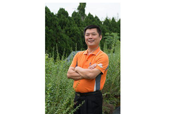觀音區元音農場負責人林榮祥。(元音農場提供)