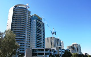 珀斯西区自住公寓市场供不应求,而投资房市场,特别是在内城区北部,则供应过剩。图为珀斯内城区公寓楼。(高敏/大纪元)