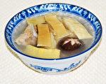 玉兰片就是笋干的雅称,加水煮汤,清脆爽口,汤鲜味美。(摄影:彩霞/大纪元)