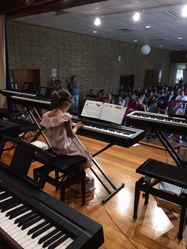 Forte音樂學校學生在年度音樂節表演。(Forte音樂學校提供)