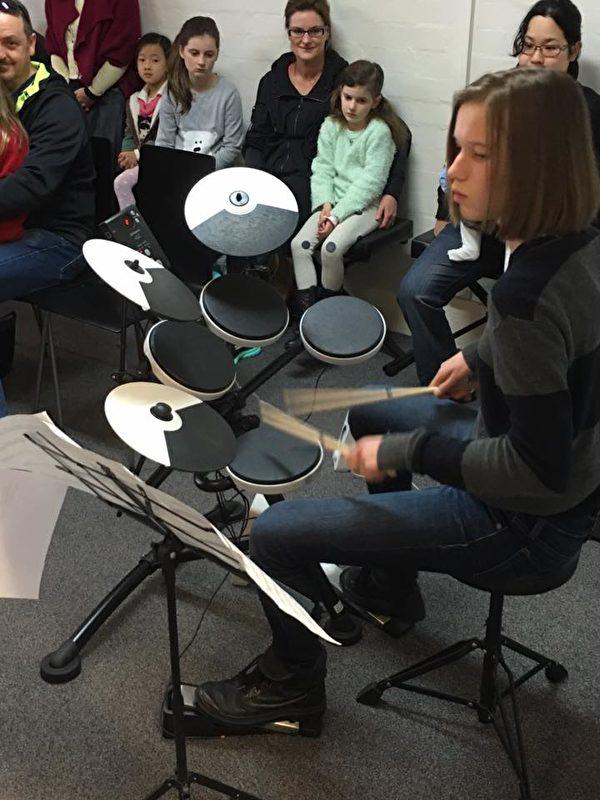 Forte音樂學校學生期末表演。(Forte音樂學校提供)
