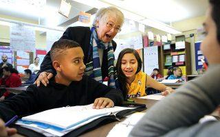 市教育局6日推出了一項新計畫,力圖推動公立學校學生的多元化。 (Spencer Platt/Getty Images)