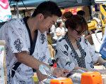 厨师们正在为大家准备拿手的亚洲美食。(主办方提供)