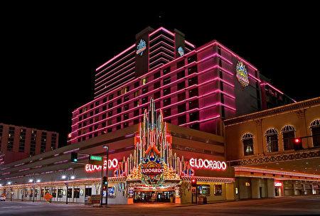 位於雷諾市中心的Eldorado賭場。(圖片由賭場提供)