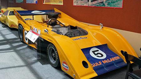 雷諾的「國家汽車博物館」中的藏車-McLaren邁凱輪一級方程式賽車。(攝影:李旭生/大紀元)