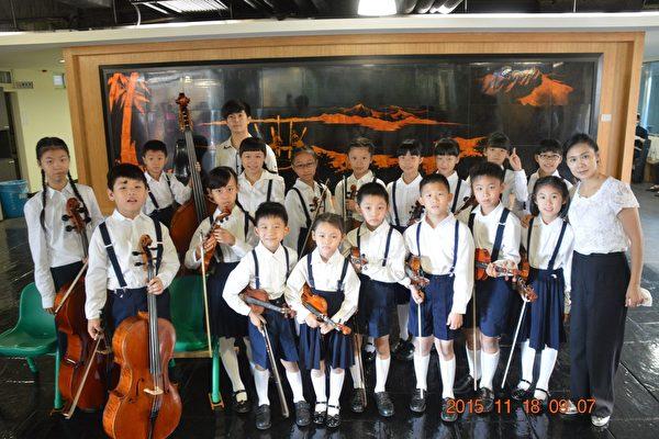 埔里國小弦樂團涵養琴藝與人格展現音樂生命力。(埔里國小提供)