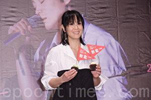 刘若英14日在台北举行记者会。(黄宗贸/大纪元)