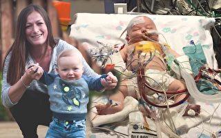 母愛創奇蹟 寶寶心跳停15小時 數度瀕死終生還