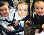 调皮可爱的三胞胎宝宝,拥有很强的团队精神,妈妈拍下他们的视频,让人感受他们的快乐。(推特/大纪元合成)