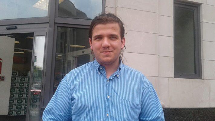 葉皓勤(Marcin Jerzewski)是華府智庫的一位學者。(李辰/大紀元)