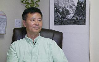 内科医师聂泽潭提醒民众,前往甲肝发病率高的地区,打疫苗后再出行。(杨阳/大纪元)