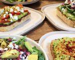 店里所有的三明治、沙拉还有Smoothy都是由牛油果制成。 (Avocaderia提供)
