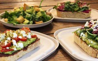 店裡所有的三明治、沙拉還有Smoothy都是由牛油果製成。 (Avocaderia提供)