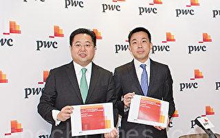 罗兵咸永道企业主管合伙人黄炜邦(左)和资本市场服务合伙人黄金钱(右)。(郭威利/大纪元)